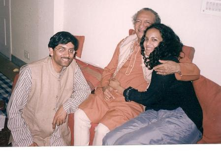 With Pt. Ravi Shankar